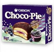Choco-Pie  СМОРОДИНА 28г х 12