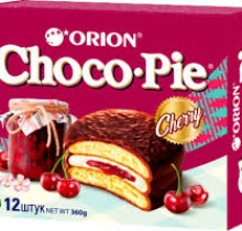 Choco-Pie  ВИШНЯ 28г х 12