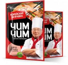 """Заправка для хе из рыбы по-корейски, жидкая 60г """"Чим Чим"""""""