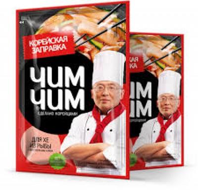 """Заправка для хе из рыбы по-корейски, жидкая 60г """"Чим Чим""""_0"""