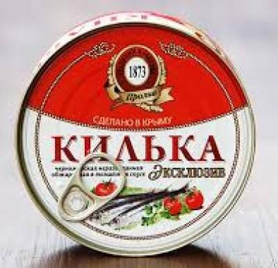 Килька в томатном соусе, 240 гр, Пролив (Крым)_0