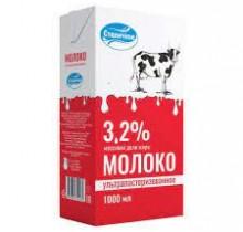 """Молоко """"Станичное"""" 3.2% 1л."""