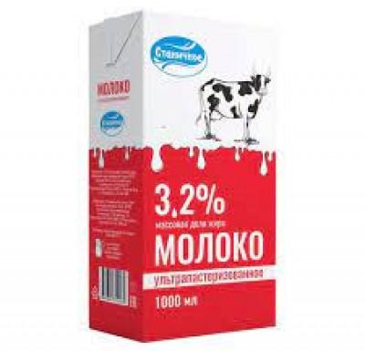 """Молоко """"Станичное"""" 3.2% 1л._0"""