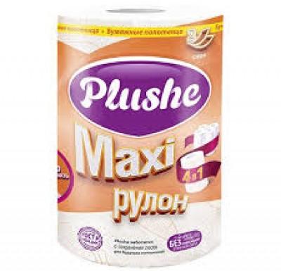 Бумажные полотенца Plushee MAXI 1 рулон_0
