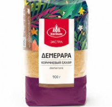 Сахар Тростниковый 900г (Демерара)