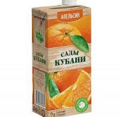 Сок (Нектар) 6 шт. 2л САДЫ КУБАНИ _0
