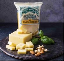 Сыр Голландский Николаевский 300г (Агрокомплекс)