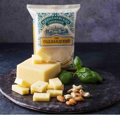 Сыр Голландский Николаевский 300г (Агрокомплекс)_0
