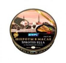 "Шпроты 160г ""Барс"" с ключом (Калининград)"