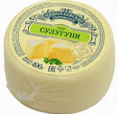 Сыр Сулугуни Николаевский 400г (Агрокомплекс)_0