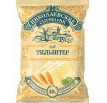 Сыр Тильзитер Николаевский 200г (Агрокомплекс)