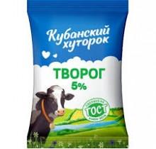 """Творог """"Кубанский Хуторок"""" 5% 180г"""