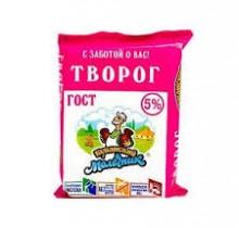 "Творог ""Кубанский Молочник"" 5% 180г"