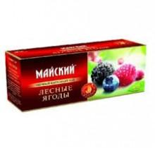 Чай Майский Лесные ягоды 25 пакетиков