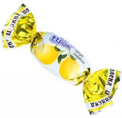 Конфеты  ФрутоШок карамель Лимон 1кг_0