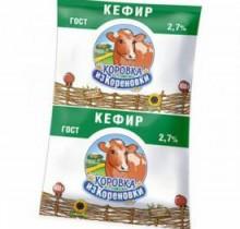 Кефир Коровка из Кореновки 2,7% 900г