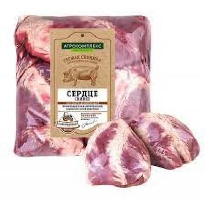 Свинина Сердце (Агрокомплекс) 1 кг_0