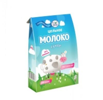 Молоко сухое цельное 26% 200г_0