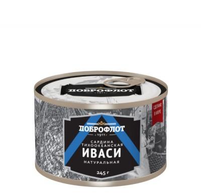 Сардина ИВАСИ 240 гр, Доброфлот_0