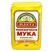 "Мука пшеничная 1кг ""Макфа"""