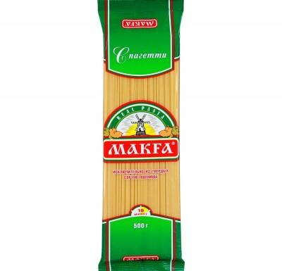Макароны Макфа, 400 гр, Спагетти_0