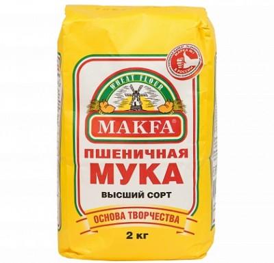 "Мука пшеничная 2кг ""Макфа""_0"