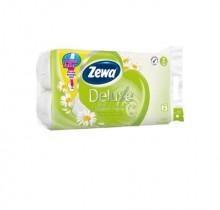 Туалетная бумага Zeva 3 слоя,  8 рулона