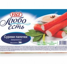 Крабовые Палочки (Сурими палочки) VICI замороженные 200г