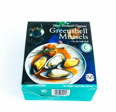 Мидии  Киви Greenshell Mussels 1кг_0