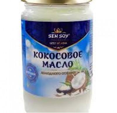 Масло кокосовое 200мл Сэн сой_0