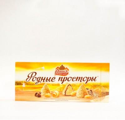 Конфеты РОДНЫЕ ПРОСТОРЫ 125г_0