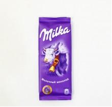 Шоколад Milka  МОЛОЧНЫЙ ШОКОЛАД 90г