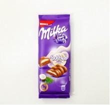 Шоколад Milka bubbles пористый молочный КОКОС 97г