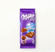 Шоколад Milka bubbles пористый МОЛОЧНЫЙ 80г