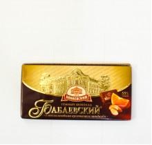 Шоколад Бабаевский  С АПЕЛЬСИНОВЫМИ КУСОЧКАМИ И МИНДАЛЕМ 100г