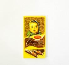 Шоколад Аленка 100г  ПОРЦИОННЫЙ (Красный Октябрь)