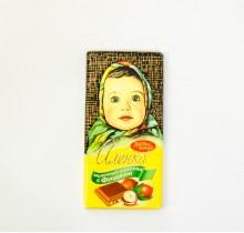 Шоколад Аленка 100г ФУНДУК  (Красный Октябрь)