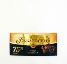 Шоколад Бабаевский  ЭЛИТНЫЙ 75% какао 200г