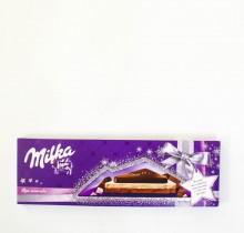 Шоколад Milka С ОРЕХОМ И КАРАМЕЛЬЮ 250 г