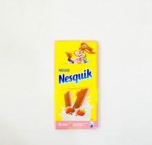 Шоколад  Nesquik С КЛУБНИКОЙ 100г