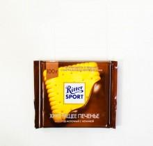 Шоколад Ritter SPORT ХРУСТЯЩЕЕ ПЕЧЕНЬЕ 100г