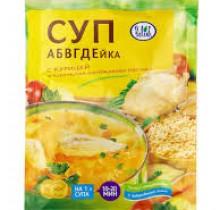 Супы Relish в ассортименте 60гр Куриный, Гороховый, Мясной, Харчо, Грибной, Рассольник