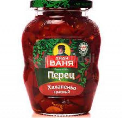 Перец Халапеньо красный 350г (Дядя Ваня)_0