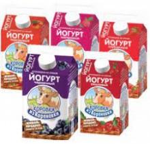 Йогурт Коровка из Кореновки 2,5% 0,45л в ассортименте