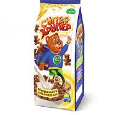 Медвежата шоколадные СУПЕР ХРУПЕР (Кунцево) 200г_0