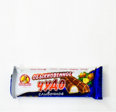 Батончик ОБЫКНОВЕННОЕ ЧУДО Сливочное 55 г (КО Славянка)_0