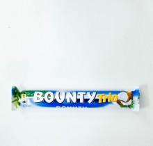 Шоколадный батончик Баунти ТРИО 82,5г