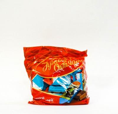 Конфеты МИШКА КОСОЛАПЫЙ шоколадные 200г (Красный Октябрь)_0