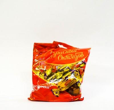 Конфеты ЛАСТОЧКА шоколадные 250г (Красный Октябрь)_0