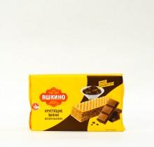 """Хрустящие шоколадные вафли """"Яшкино"""" 200 гр"""
